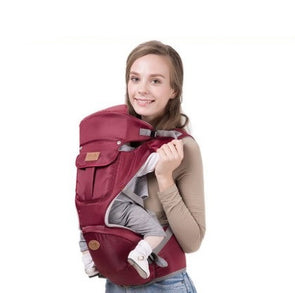 Baby Carrier Ergonomic Carrier Red Blue Backpack Hipseat For Newborn Legs Sling Baby Kangaroos Bag For Newborn Baby