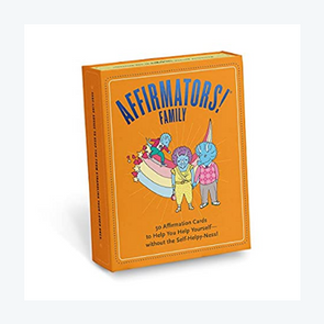 Affirmators! Family Deck: 50 Affirmation Cards on Kin of All Kinds – Without The Self-Helpy-Ness!