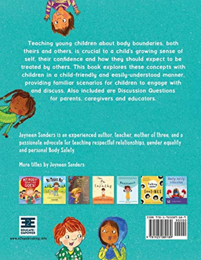 Let's Talk About Body Boundaries, Consent and Respect: Teach children about body ownership, respect, feelings, choices…