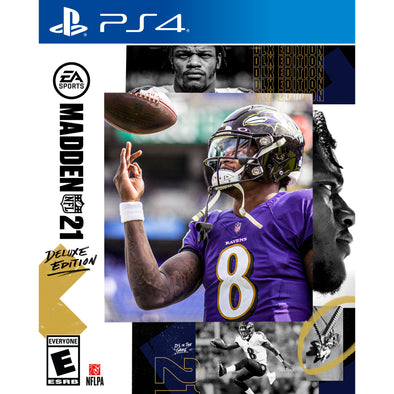 Madden NFL 21 Deluxe Edition, Electronic Arts, PlayStation 4 - Walmart Exclusive Bonus
