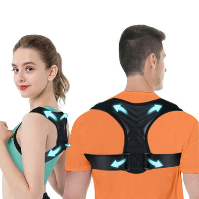 Posture Corrector for Men And Women,Upper Back Brace For Clavicle Support,Adjustable Back Straightener And Providing Pain Relief From Neck,Back Shoulder,Fit 37-49''
