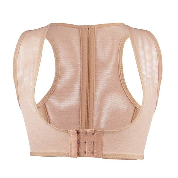 Mancro Adjustable Lady Back Corset Brace Humpback Correction Band Beauty Chest Shaper Support Belt Women Bust Lift Posture Corrector