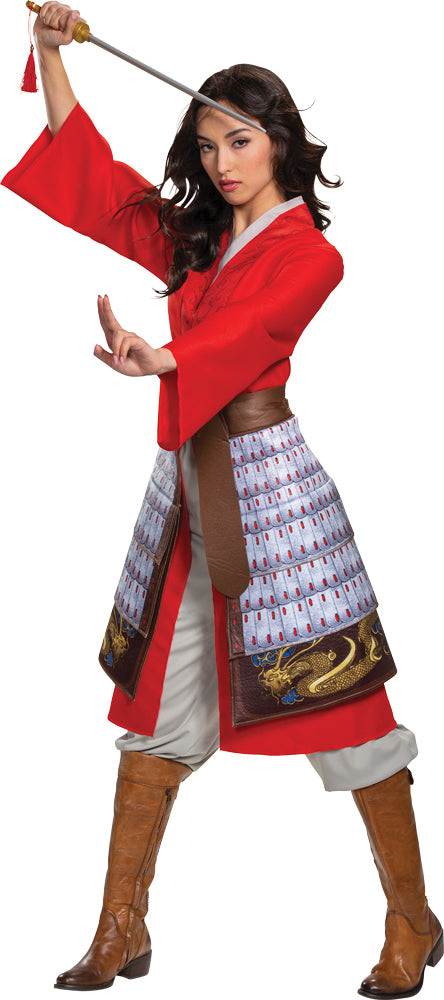 MULAN HERO RED DRESS DLX 18-20