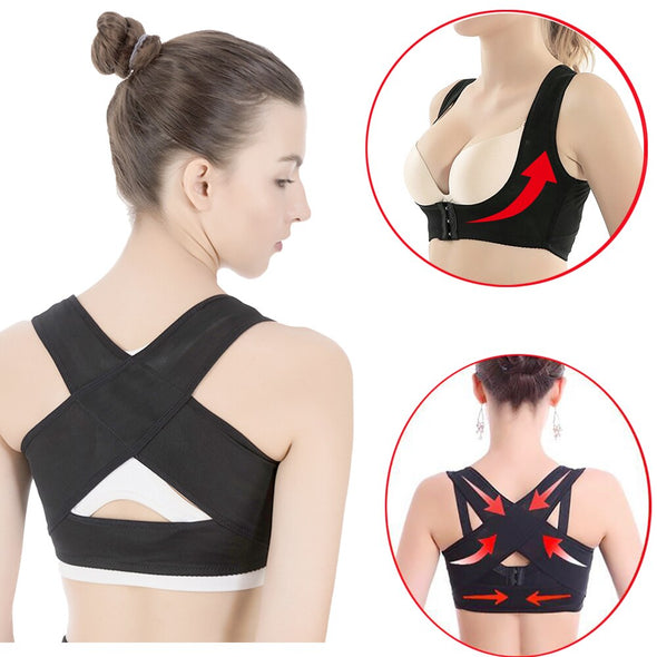 Women Chest Gather Posture Brace Corrector Belt Body Shape Prevent Chest Hunchback Sagging Posture Corsetor for Drop Shipping