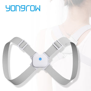 Yongrow Back Shoulder Brace Posture Corrector Belt Adjustable Spine Support Correct Posture for Men and Women