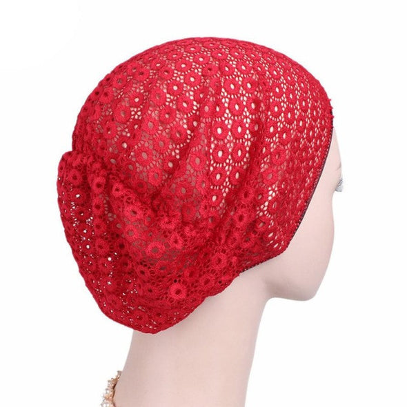 Knitted Cotton Hats for Women