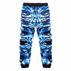 Sweatpants Camo Men Joggers