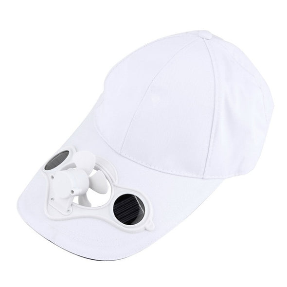 Summer Sport Outdoor Hat Cap with Solar Sun Power Cool Fan For Cycling drop shipping