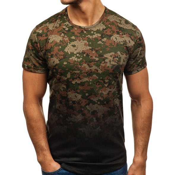 Men's Short Sleeve Muscle T Shirt