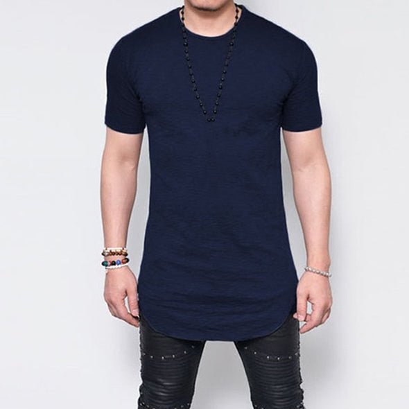 Summer Tee Tops Men Casual T Shirts