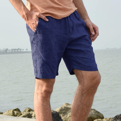 Men Basic Solid Shorts