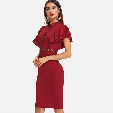Isa Elegant Retro Party Dress