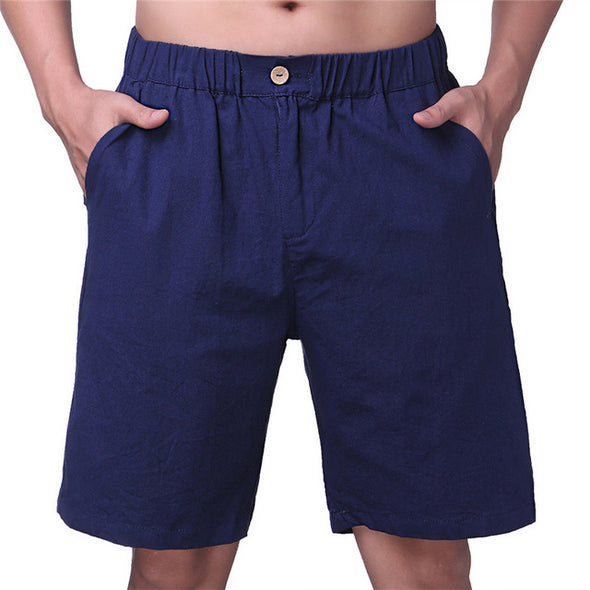 Men Cotton Casual Shorts