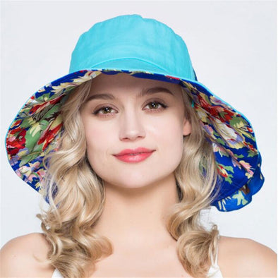 Xthree summer hats for women ladies large brim cotton Beach cap sun hat female England Style