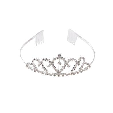 Kids Tiara Crown Rhinestones