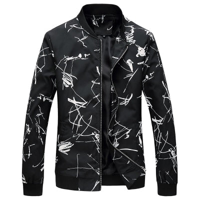Loldeal Men Bomber Jacket