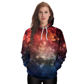 Women Casual Hoodies Print