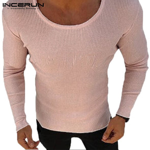 Fashion Muscle Tee Knited