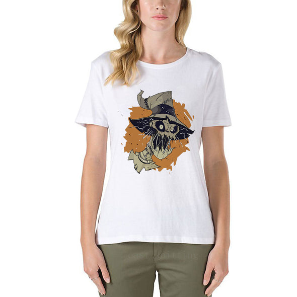 Women Printe Short Sleeve T-Shirt