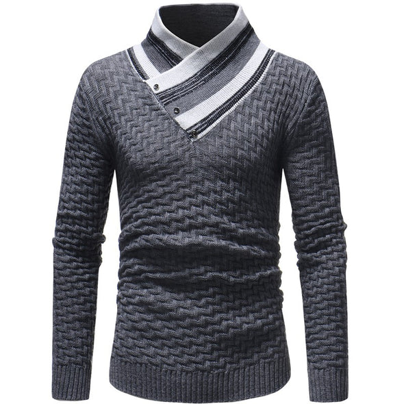 Men Sweater Turtleneck Neck
