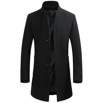 Jacket Wool Coat Men