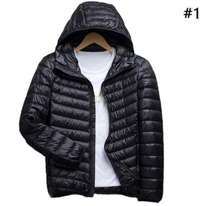 Light Hoodie Down Jacket