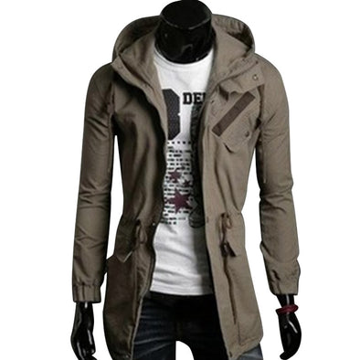 Coat Long Jacket Windbreaker