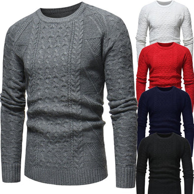 Men Sweater Round Neck