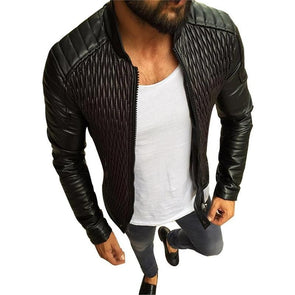 Autumn Coat Men Leather
