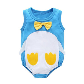 Newborn Baby Rompers Sleeveless