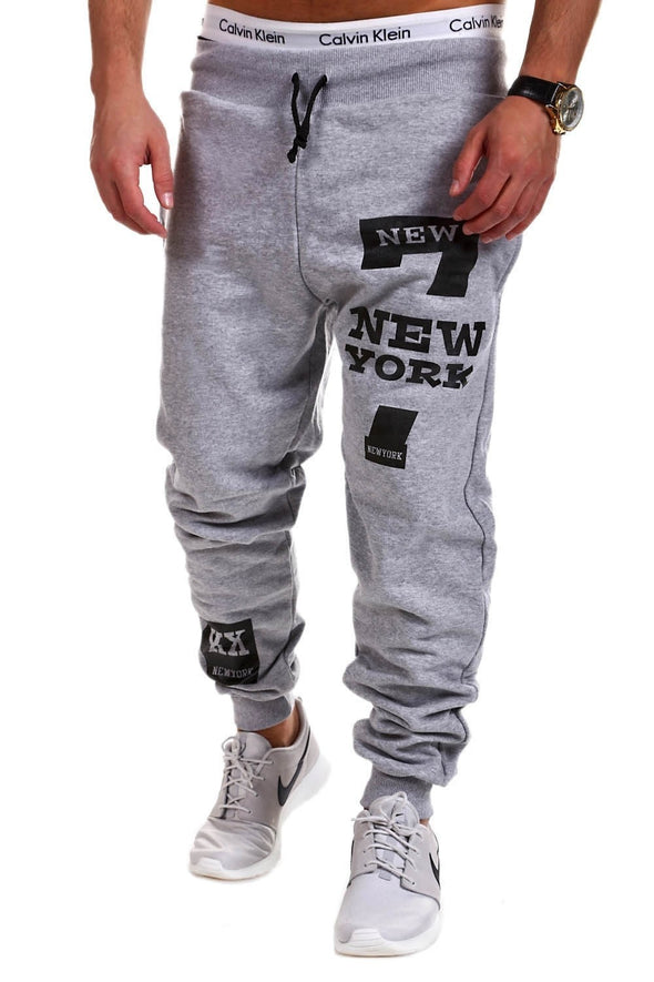 Joggers Men Elastic Waist Pants