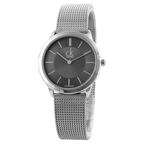 CalvinKlein MINIMAL Series Milan Knitting Men's Watch K3M22124