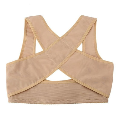 Women Adjustable Elastic Back Support Belt Chest Posture Corrector Shoulder Brace Body Shaper Corset Health Care S/M/L/XL/XXL