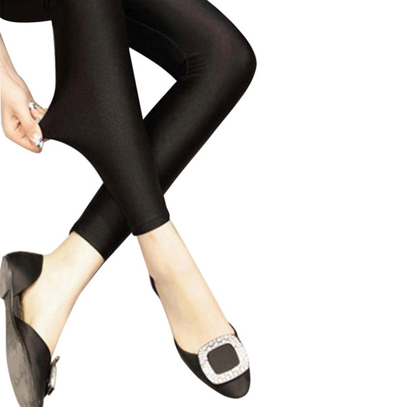 Thin Black Leggings Calzas Mujer Leggins Leggings Stretchy Plus Size 4XL 5XL