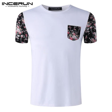 Summer Casual Tee Tops Men's T-shirt