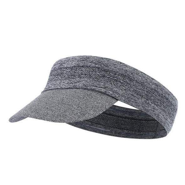 Visor Cap Ultralight Running Women Men Camping Headband Foldable Anti UV Empty Top Hat Beach Soft Summer Outdoor Sports
