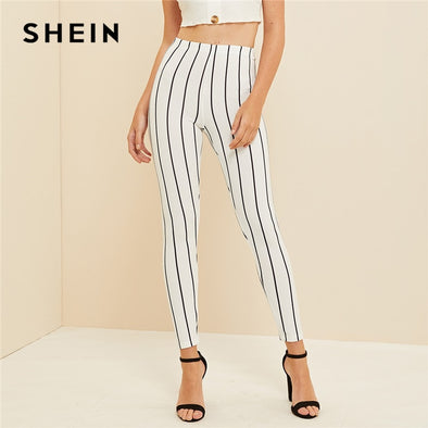 Women Spring Summer Fall 2019 Workwear Fitted Basics Leggings