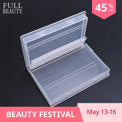 Full Beauty 20 Slots Storage Box For Nail Drill