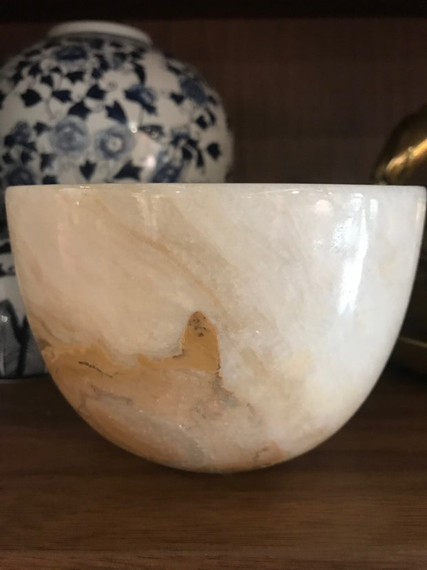 Zafirah - Granite Bowl - Natural