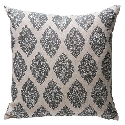 Canvas & Sasson - Babbington Grey Cushion - 60 x 60