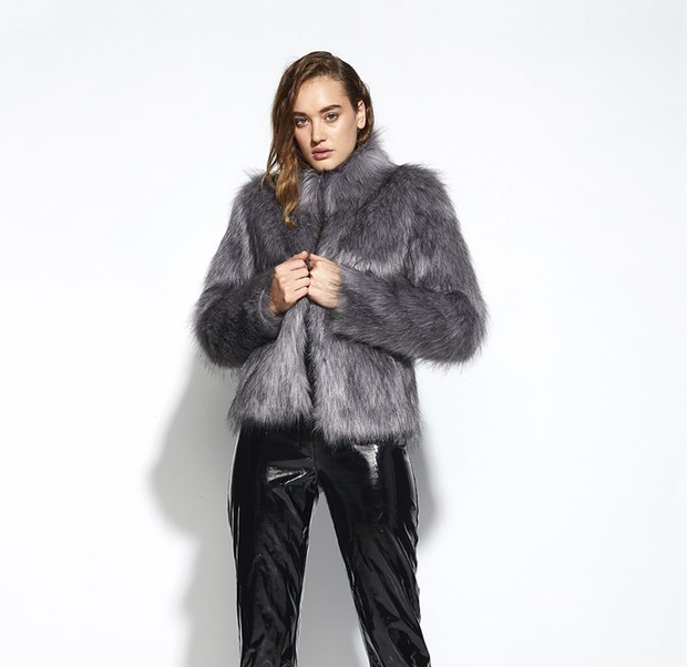Unreal Fur - DELISH JACKET | UNREAL FUR | SILVER MOON