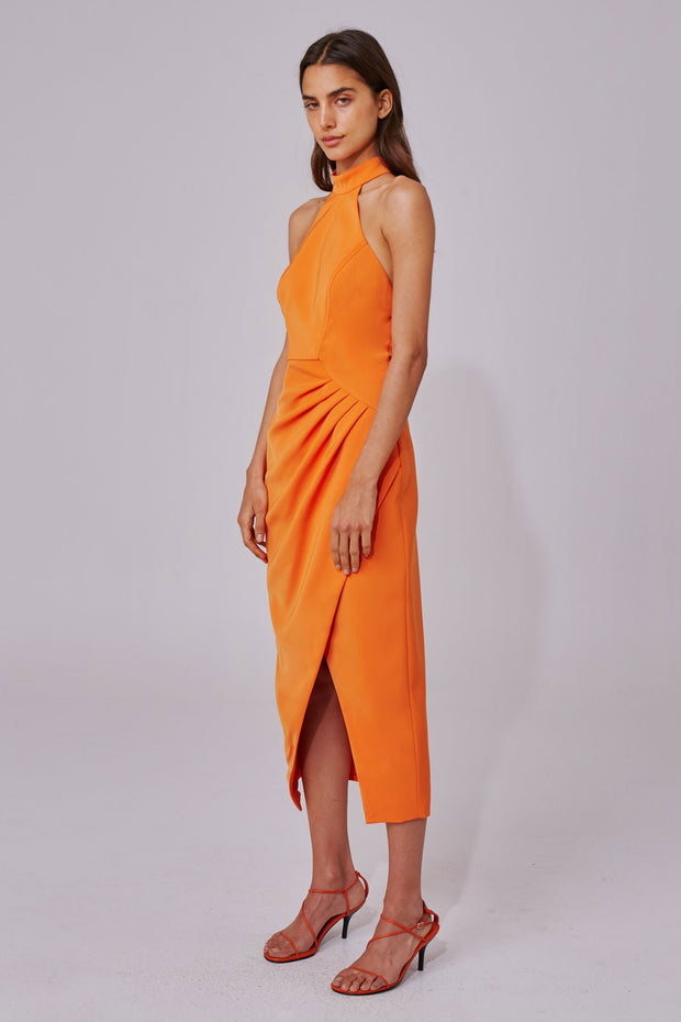 C/MEO - Caliber Dress - Tangerine
