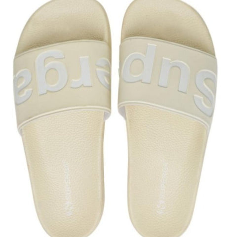 Superga - Puu Slides - Ecru / White
