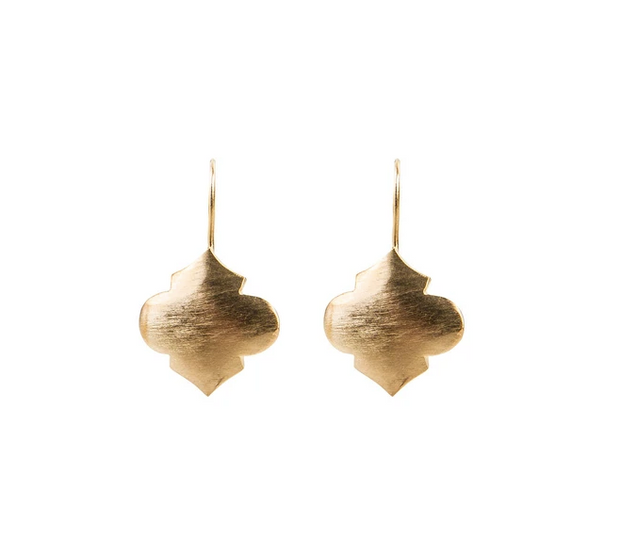 Fairley - Moroccan Hook Earrings - Gold
