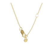 Fairley - Pearl Disc Necklace - Gold