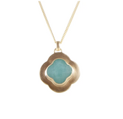 Fairley - Amazonite Clover Necklace