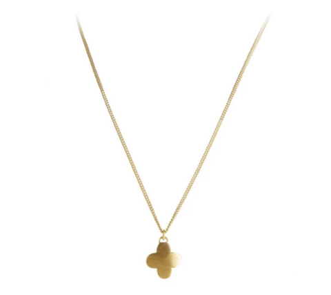 Fairley - Moroccan Drop Necklace - Gold