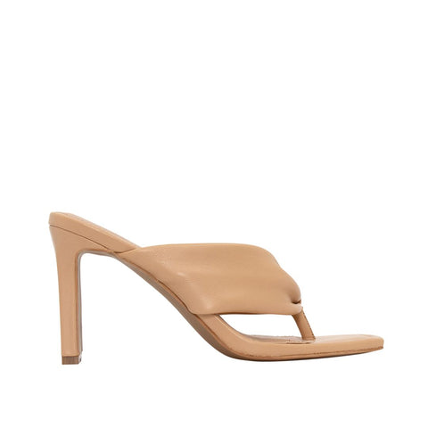 Skin Footwear - Lukas Heel - Camel Leather