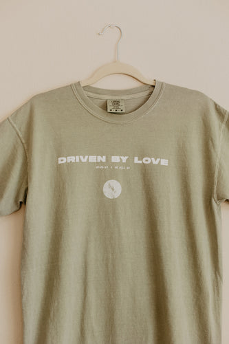 Driven By Love Short Sleeve Sandstone T