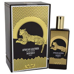 African Leather Eau De Parfum Spray (Unisex) By Memo